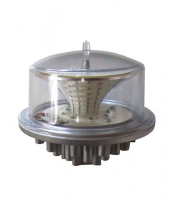Luxsolar low intensity aviation obstruction light