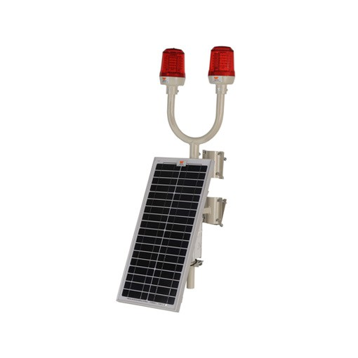 wetra twin solar powered aviation obstruction light