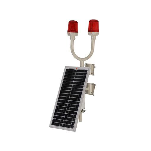 Wetra solar panelli ikiz uçak ikaz lambası