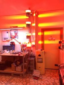 Luxsolar orta yoğunluklu uçak ikaz lambası sistemi